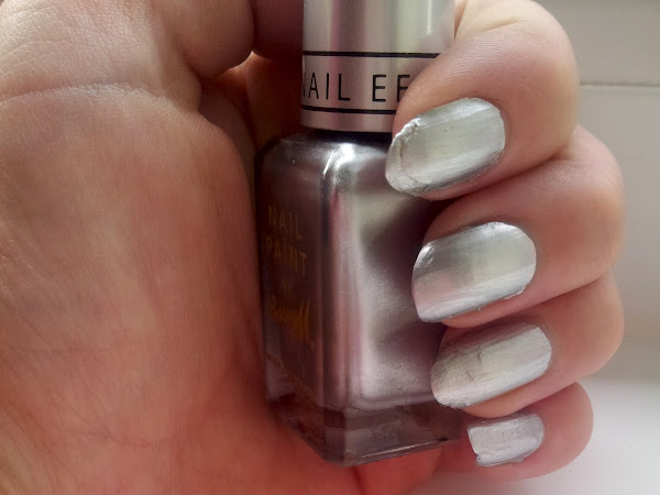 Barry M Instant Nail Effects Silver Foil