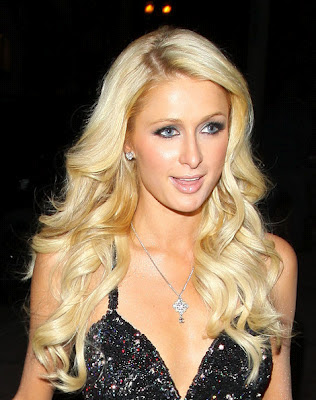 Paris Hilton 2012 Hairstyle