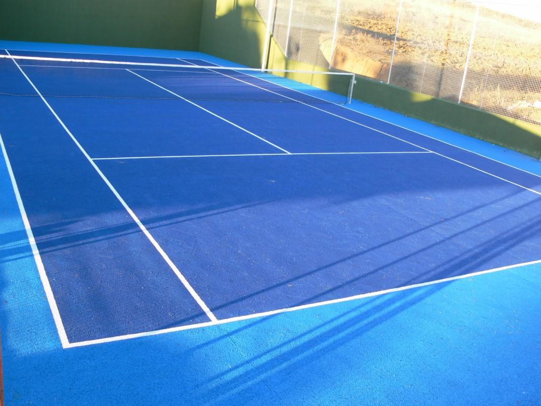 iluminacion pistas tenis: