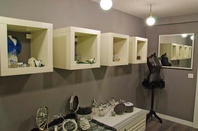 Pequeño taller showroom
