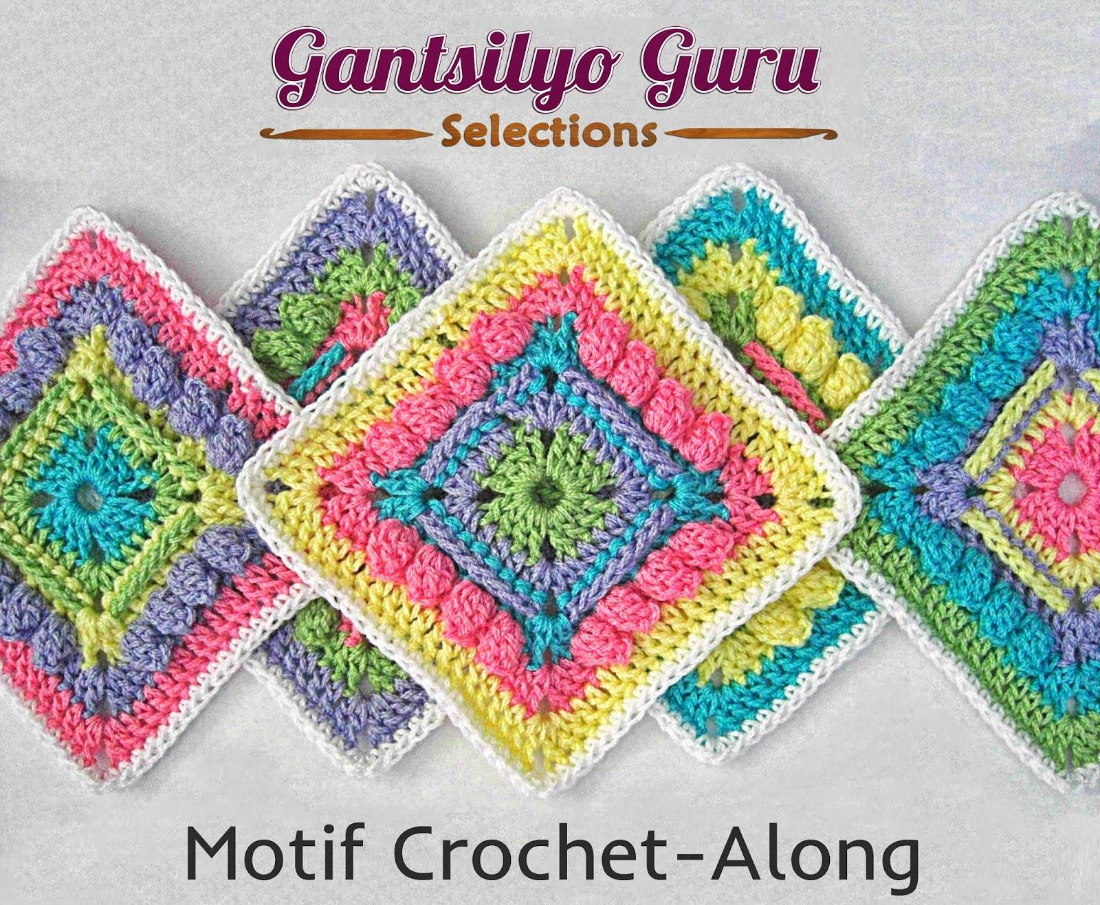 Gantsilyo Guru: Motif Crochet-Along With Red Heart Baby Sheen Yarn!
