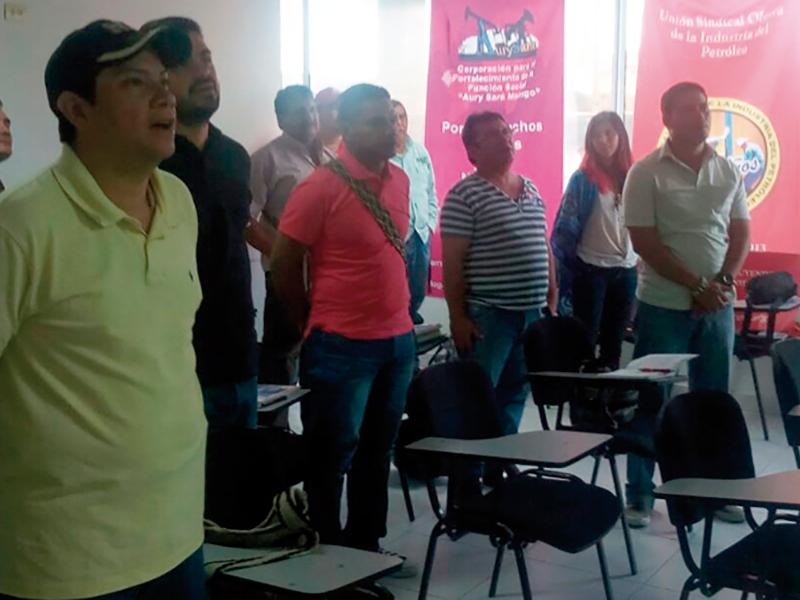 Finaliza Diplomado formador de formadores en Barrancabermeja