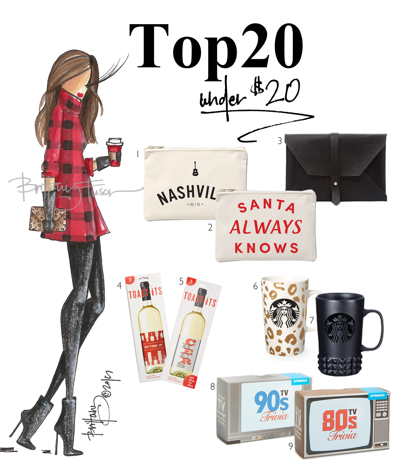 Brittany Fuson: 2015 Gift Guide: Top 20 Gifts Under $20