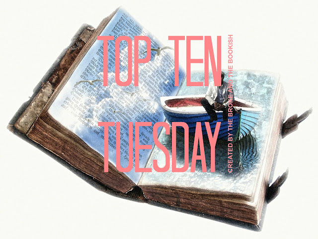 Top ten Tuesday: ten bookish I need to quit