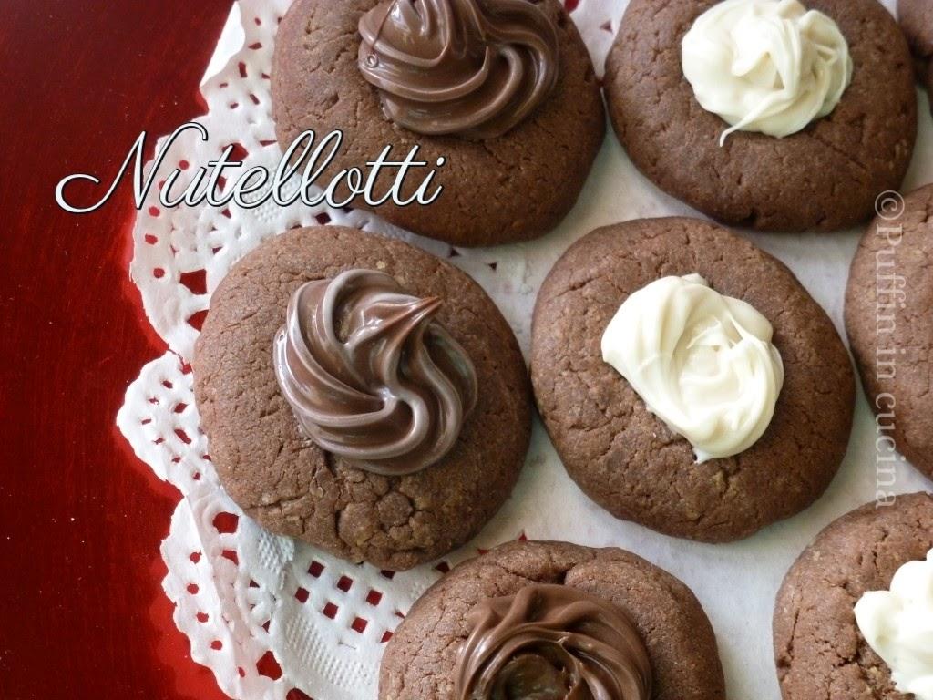 nutellotti ossia biscotti a base di nutella semplici, veloci e stragolosi!!!