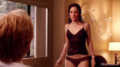 mary-louise parker standing in  wet panties in front of matthew modine