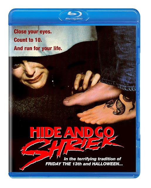 Hide and Go Shriek Blu-ray Code Red DVD