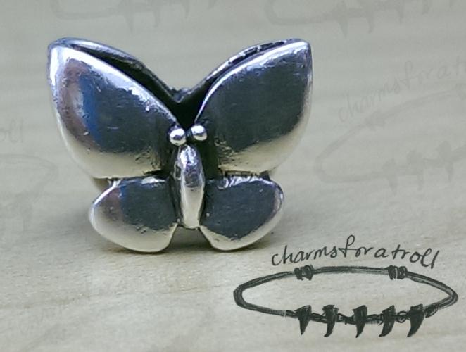 Trollbeads Fantasy Butterfly Charm