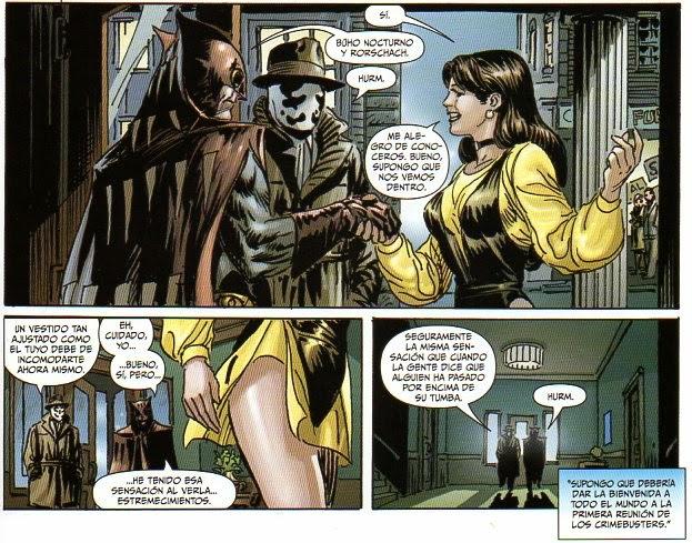Lindo momento de Antes de Watchmen
