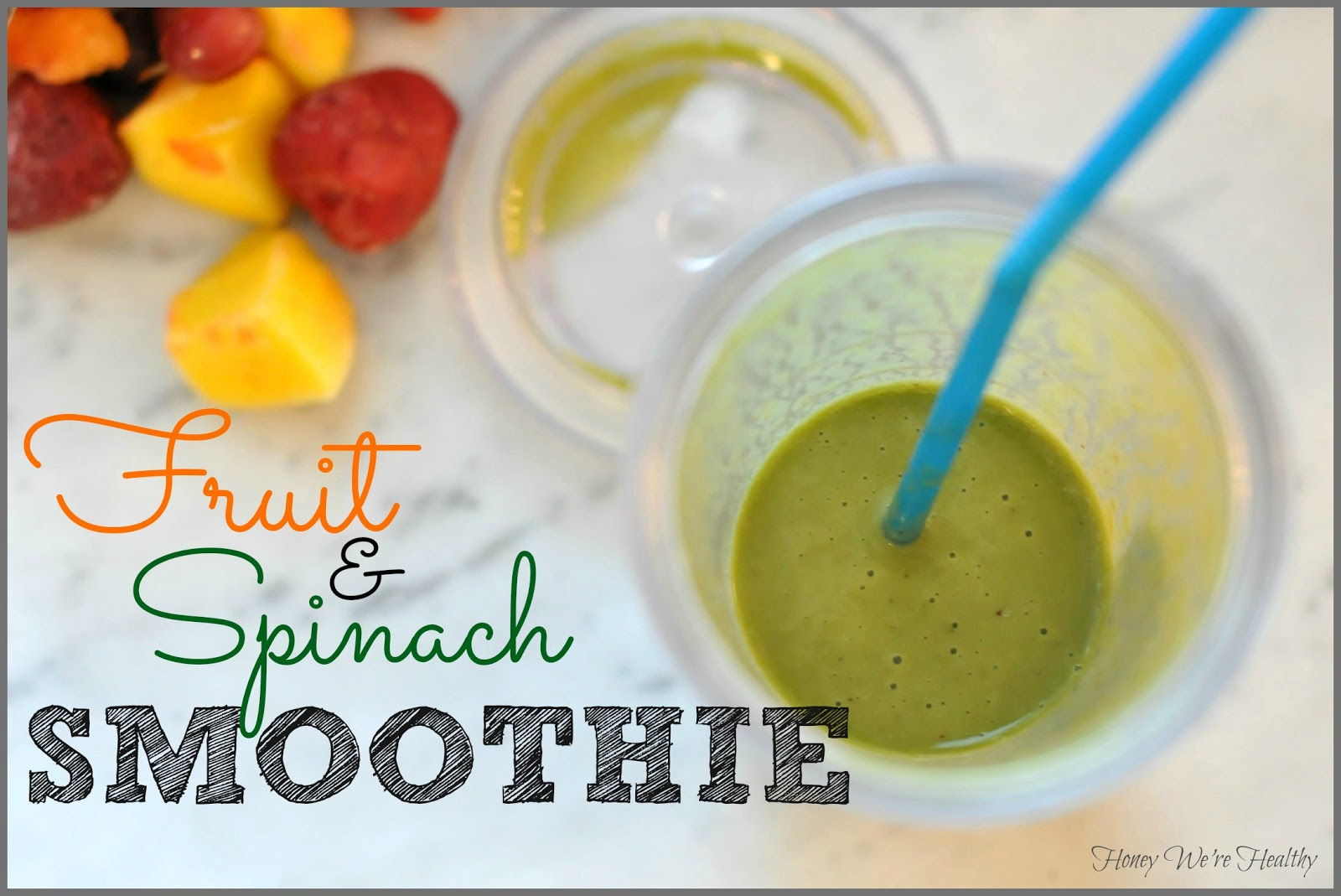 what kind of fruit healthy smoothies with spinach and fruit