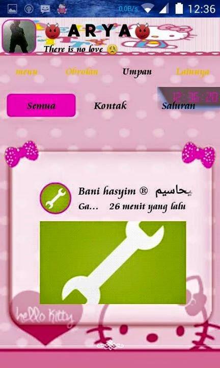 BBM Mod Hello Kitty 2.8