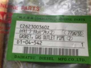 Daihatsu PS 24H unused spare parts for sale, second hand, new spare parts