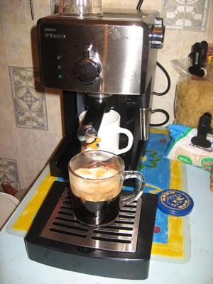 Купил эспрессо кофеварку Philips Saeco Poemia Class