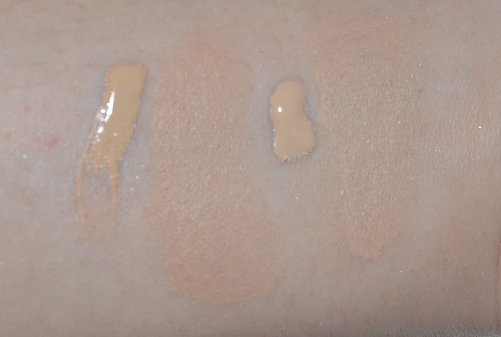 Simply Dianas Makeup Chronicles Chanel Vitalumiere Aqua 20 Beige Vitalumire Ultra Light Skin Perfecting Spf 15 Leftvitalumiere Blended Right Perfection Lumiere Velvet