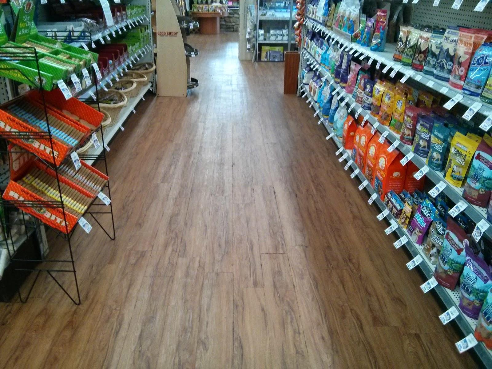 Floor Installation Photos Congoleum Endurance Installed At Pets Plus - Congoleum retailers