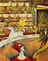 Georges Seurat (32) - El circo (obra inacabada, 1891)