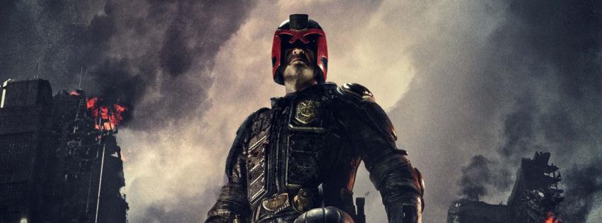 Dredd movie facebook cover