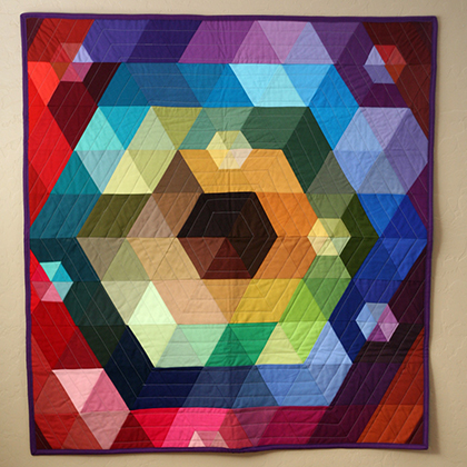 The Patchwork Prism Quilt