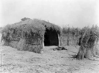 Cahuilla House in the Desert, California Edward S Curtis