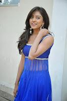 Actress Vithika Sheru Latest Pictures in Blue Salwar Kameez at Paddanandi Premalo Mari Movie First Look Launch  11.jpg