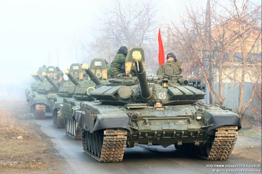 Industry Russian tanks