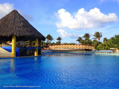 G Bahia Principe Tulum The beautiful blue pools of the Gran Bahia Principe Tulum resort