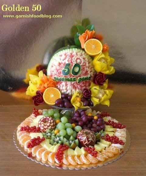 Garnishfood fruit carving arrangements and food garnishes