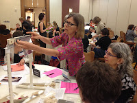 Gwen Spicer's AIC 41st Annual Meeting, hands-on session Testing magnetic systems for use in art conservation, treatment and display