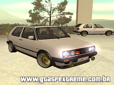 Vw Golf Mk2 German Look para GTA San Andreas