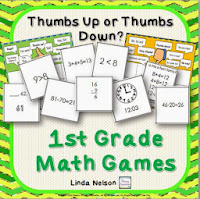 Ten Games for 1st Grade Math!