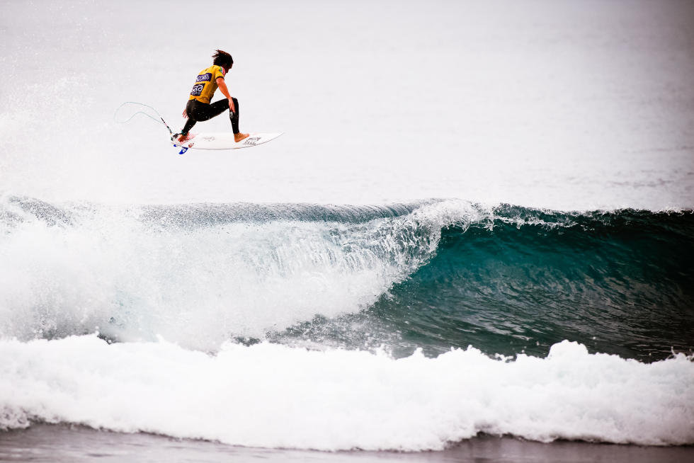10 Evan Geiselman USA 2015 SATA Azores Pro Foto WSL Laurent Masurel