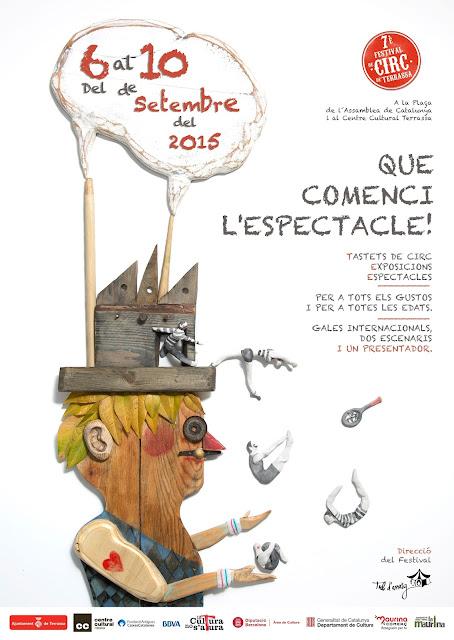 Programa 7è Festival de Circ de Terrassa
