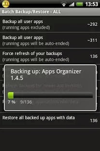 Titanium Backup Root - screenshot
