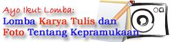 lomba karya tulis & foto kepramukaan dunialombaku.blogspot.com