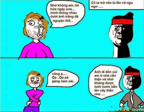 Truyện tranh hài sự tích chú cuội hằng nga 8