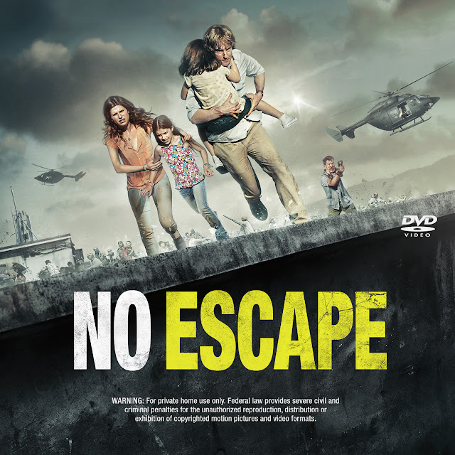 Label DVD No Escape