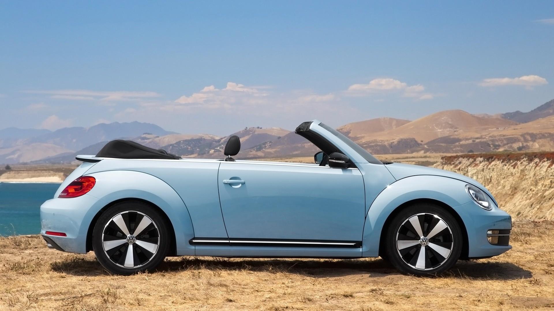 Volkswagen Beetle Convertible Car HD Wallpaper