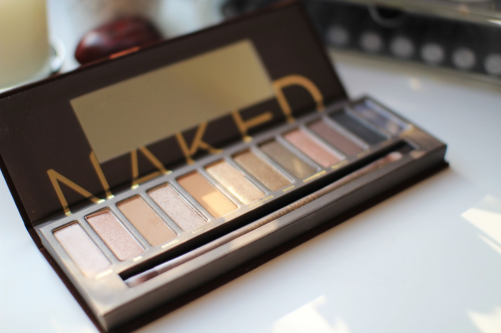 The Urban Decay Naked Palette