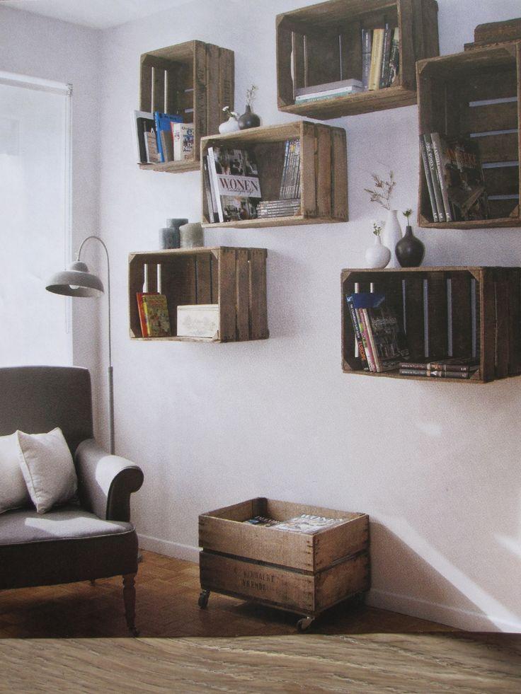 Vintage woonkamer muurdecoratie for Interieur accessoires
