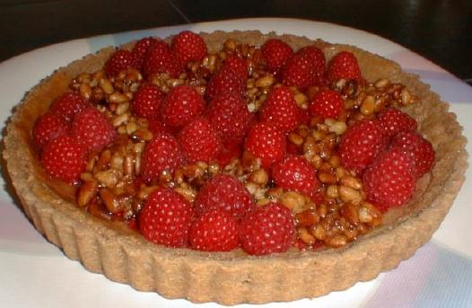cheesecake tart with raspberry topping this tart takes a rich and ...
