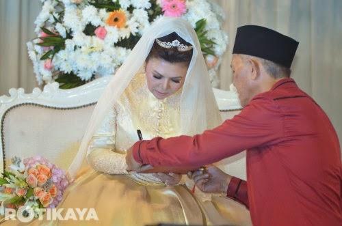 Majlis Akad Nikah Raja Azmi