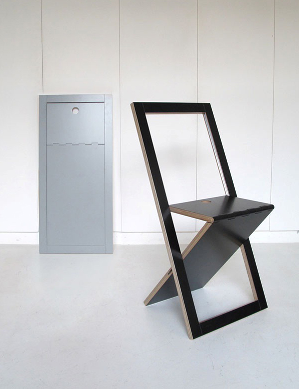 Homebuildlife The WM Chair by Mathieu Camillieri for Woodmood