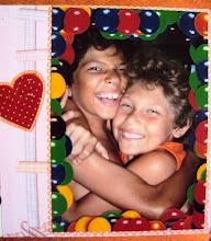 Meus filhos amados e abençoados por Deus.