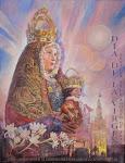 Cartel día de la Virgen 2016.