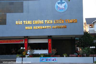 museo guerra de vietnam Ho chi minh