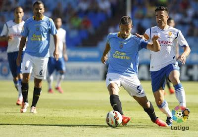 Ver en vivo Zaragoza - Las Palmas ascenso a primera