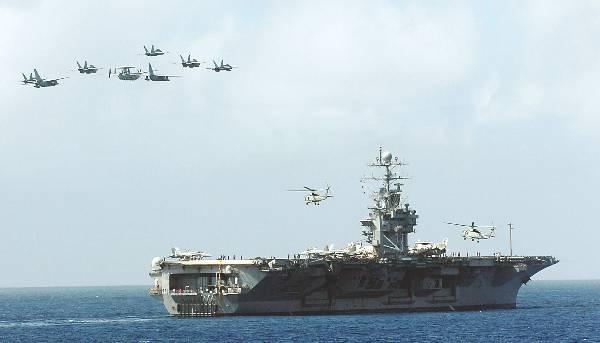 War news updates us aircraft carrier uss george washington may be