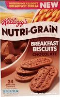 Nutri-grain Breakfast Biscuit chocolate box