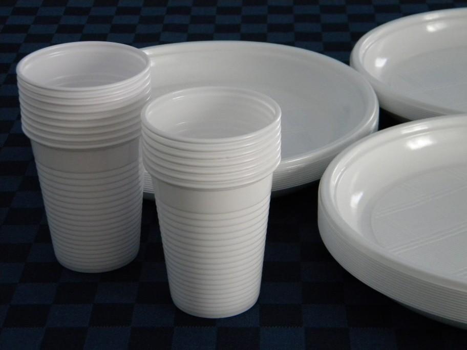 Differenziata piatti e bicchieri monouso nel multimateriale for Piatti e bicchieri colorati