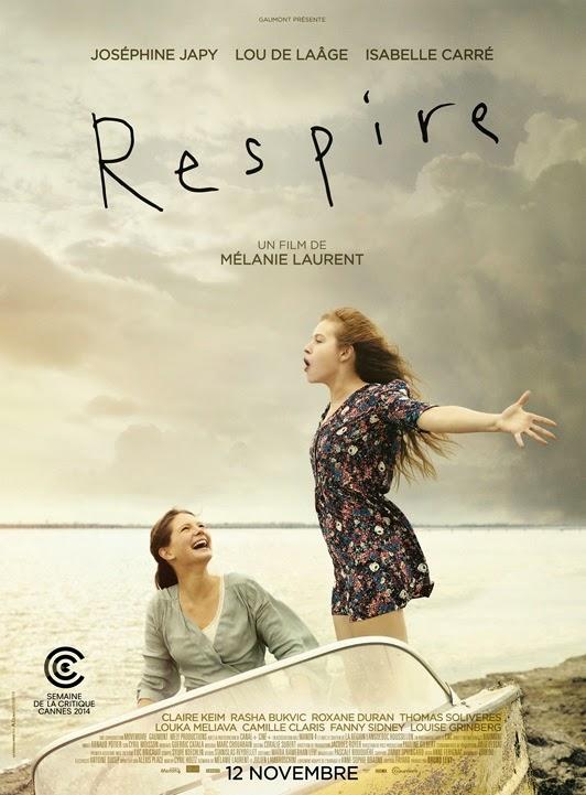 Affiche du film Respire, de Mélanie Laurent